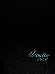 1954 Edition, Indiana University - Arbutus Yearbook (Bloomington, IN)