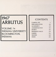 Page 5, 1967 Edition, Indiana University - Arbutus Yearbook (Bloomington, IN) online yearbook collection