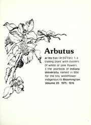 Page 5, 1976 Edition, Indiana University - Arbutus Yearbook (Bloomington, IN) online yearbook collection