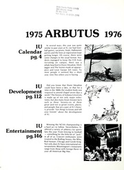 Page 6, 1976 Edition, Indiana University - Arbutus Yearbook (Bloomington, IN) online yearbook collection
