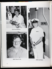 Page 19, 1986 Edition, Glover (FF 1098) - Naval Cruise Book online yearbook collection