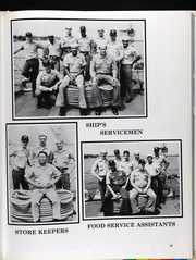 Page 34, 1986 Edition, Glover (FF 1098) - Naval Cruise Book online yearbook collection