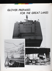 Page 35, 1986 Edition, Glover (FF 1098) - Naval Cruise Book online yearbook collection