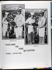 Page 88, 1986 Edition, Glover (FF 1098) - Naval Cruise Book online yearbook collection