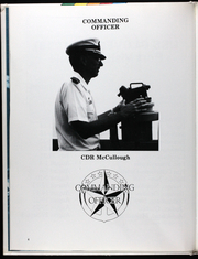 Page 9, 1986 Edition, Glover (FF 1098) - Naval Cruise Book online yearbook collection