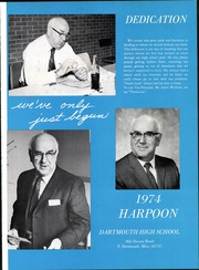 Page 5, 1974 Edition, Dartmouth High School - Harpoon Yearbook (North Dartmouth, MA) online yearbook collection