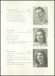 Page 15, 1947 Edition, Burlington High School - Arrowhead Yearbook (Burlington, MA) online yearbook collection