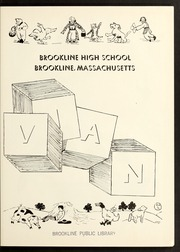 Page 7, 1944 Edition, Brookline High School - Murivian Yearbook (Brookline, MA) online yearbook collection