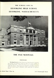 Page 5, 1948 Edition, Brookline High School - Murivian Yearbook (Brookline, MA) online yearbook collection
