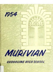 Page 1, 1954 Edition, Brookline High School - Murivian Yearbook (Brookline, MA) online yearbook collection