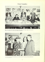 Page 10, 1955 Edition, Brookline High School - Murivian Yearbook (Brookline, MA) online yearbook collection