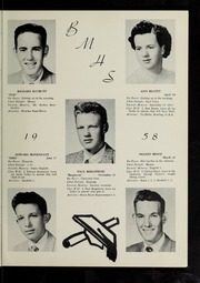 Page 17, 1958 Edition, Billerica Memorial High School - BMHS Yearbook (Billerica, MA) online yearbook collection