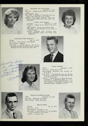 Page 17, 1961 Edition, Billerica Memorial High School - BMHS Yearbook (Billerica, MA) online yearbook collection