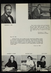 Page 8, 1961 Edition, Billerica Memorial High School - BMHS Yearbook (Billerica, MA) online yearbook collection
