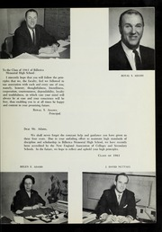 Page 9, 1961 Edition, Billerica Memorial High School - BMHS Yearbook (Billerica, MA) online yearbook collection