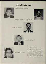 Page 10, 1962 Edition, Billerica Memorial High School - BMHS Yearbook (Billerica, MA) online yearbook collection