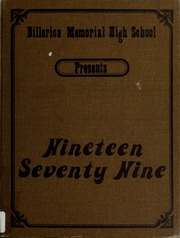 1979 Edition, Billerica Memorial High School - BMHS Yearbook (Billerica, MA)