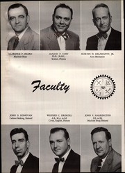 Page 16, 1954 Edition, Diman Vocational High School - Artisan Yearbook (Fall River, MA) online yearbook collection