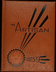 Diman Vocational High School - Artisan Yearbook (Fall River, MA) online yearbook collection, 1959 Edition, Page 1