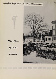 Page 6, 1956 Edition, Amesbury High School - Pow Wow Yearbook (Amesbury, MA) online yearbook collection