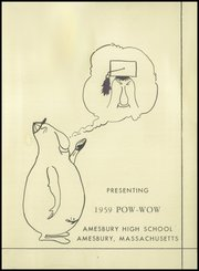 Page 5, 1959 Edition, Amesbury High School - Pow Wow Yearbook (Amesbury, MA) online yearbook collection