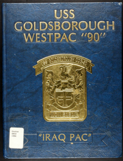 1990 Edition, Goldsborough (DDG 20) - Naval Cruise Book