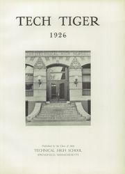 Page 5, 1926 Edition, Technical High School - Tech Tiger Yearbook (Springfield, MA) online yearbook collection
