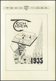 Page 5, 1935 Edition, Technical High School - Tech Tiger Yearbook (Springfield, MA) online yearbook collection