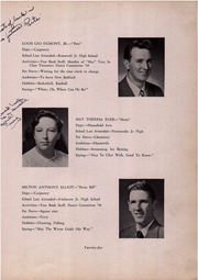 New Bedford Vocational High School - Mariner Yearbook (New Bedford, MA) online yearbook collection, 1950 Edition, Page 29
