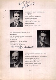 New Bedford Vocational High School - Mariner Yearbook (New Bedford, MA) online yearbook collection, 1950 Edition, Page 34