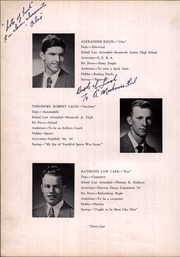 New Bedford Vocational High School - Mariner Yearbook (New Bedford, MA) online yearbook collection, 1950 Edition, Page 38