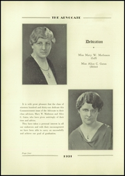 Page 8, 1931 Edition, Needham High School - Advocate Yearbook (Needham, MA) online yearbook collection