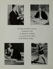 Page 6, 1966 Edition, Wakefield High School - Oracle Yearbook (Wakefield, MA) online yearbook collection