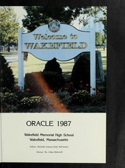 Page 5, 1987 Edition, Wakefield High School - Oracle Yearbook (Wakefield, MA) online yearbook collection
