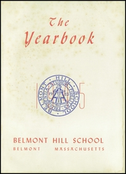 Page 5, 1945 Edition, Belmont Hill School - Belmont Hill School Yearbook (Belmont, MA) online yearbook collection