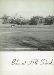 Page 6, 1949 Edition, Belmont Hill School - Belmont Hill School Yearbook (Belmont, MA) online yearbook collection