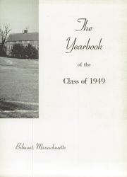 Page 7, 1949 Edition, Belmont Hill School - Belmont Hill School Yearbook (Belmont, MA) online yearbook collection