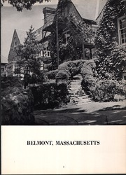 Page 7, 1955 Edition, Belmont Hill School - Belmont Hill School Yearbook (Belmont, MA) online yearbook collection