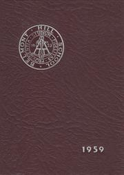 1959 Edition, Belmont Hill School - Belmont Hill School Yearbook (Belmont, MA)