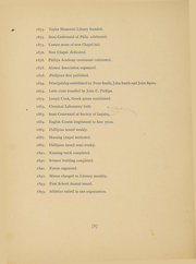 Page 16, 1894 Edition, Phillips Academy - Pot Pourri Yearbook (Andover, MA) online yearbook collection