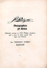 Page 4, 1903 Edition, Phillips Academy - Pot Pourri Yearbook (Andover, MA) online yearbook collection
