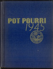 Page 1, 1945 Edition, Phillips Academy - Pot Pourri Yearbook (Andover, MA) online yearbook collection