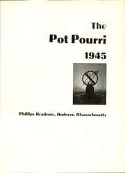 Page 7, 1945 Edition, Phillips Academy - Pot Pourri Yearbook (Andover, MA) online yearbook collection