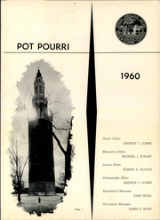 Page 5, 1960 Edition, Phillips Academy - Pot Pourri Yearbook (Andover, MA) online yearbook collection