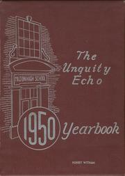 Page 1, 1950 Edition, Milton High School - Echo Yearbook (Milton, MA) online yearbook collection