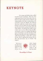 Page 6, 1955 Edition, Milton High School - Echo Yearbook (Milton, MA) online yearbook collection
