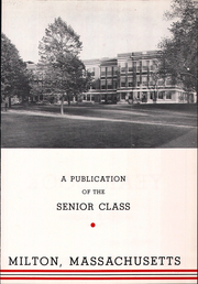Page 7, 1955 Edition, Milton High School - Echo Yearbook (Milton, MA) online yearbook collection