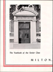 Page 6, 1964 Edition, Milton High School - Echo Yearbook (Milton, MA) online yearbook collection