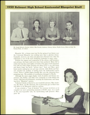 Page 11, 1959 Edition, Belmont High School - Blueprint Yearbook (Belmont, MA) online yearbook collection