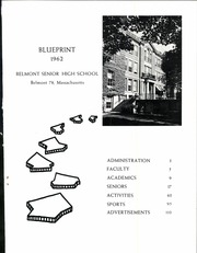 Page 5, 1962 Edition, Belmont High School - Blueprint Yearbook (Belmont, MA) online yearbook collection